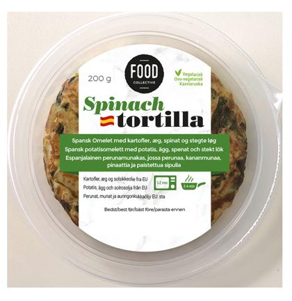 Tortilla-spinach